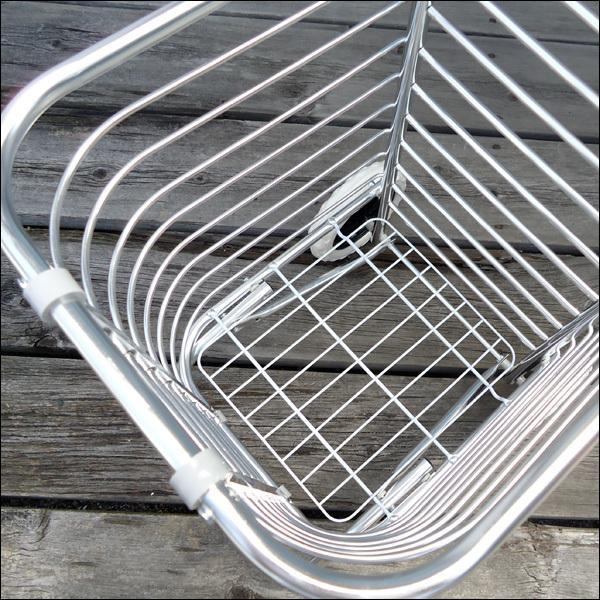 超軽量 アルミ製 ショッピングカート ワイヤーカート|vivaenterplise|06