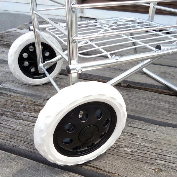 超軽量 アルミ製 ショッピングカート ワイヤーカート|vivaenterplise|08