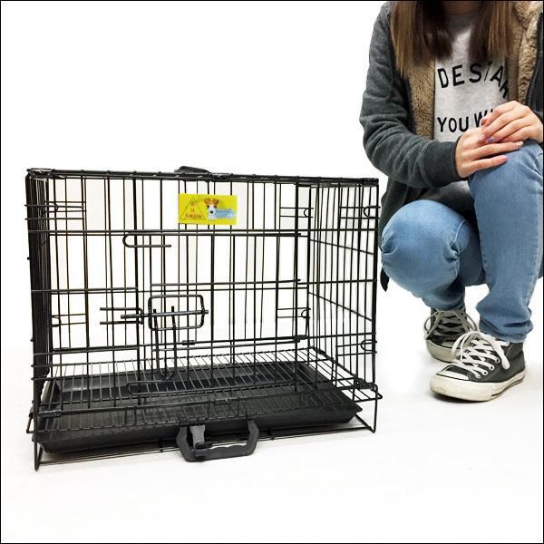 ペットケージ 鉄製 折り畳 ウサギ 猫 犬 ケージS  H38×W46×D30cm オマケ付 あ vivaenterplise 02