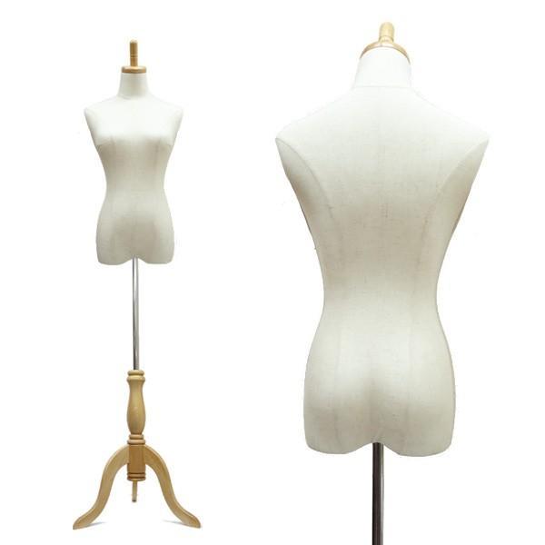 天然素材 レディーストルソー 木製ナチュラル 猫脚 リネンorホワイト パンツ対応 NWN/NAN|vivaenterplise|13