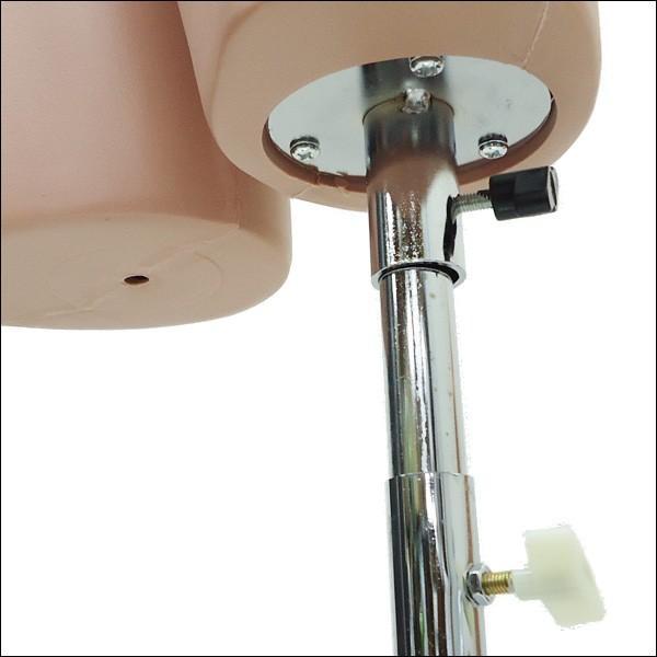超リアル レディース ハーフ マネキン 樹脂製 角型台J  スポーツウェアー 水着 ランジェリー 水洗い可能 同梱不可|vivaenterplise|06
