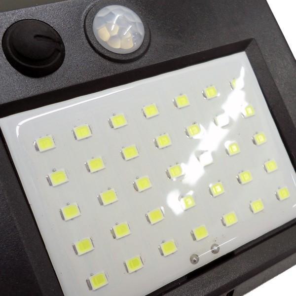 新型 屋外センサーライト 分離式 ソーラーガーデンライト  ソーラー充電式 35LEDライト 人感センサー 自動点灯 電気不要 防犯|vivaenterplise|09
