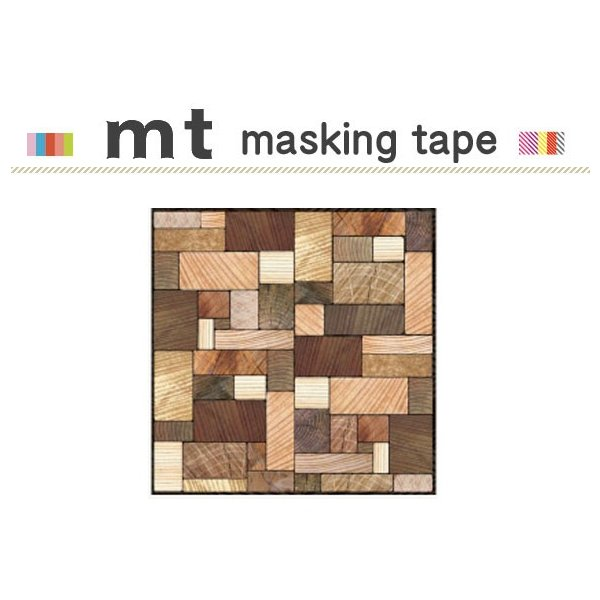 マスキングテープ リメイクシート カモ井加工紙 mt CASA SHEET 壁用 木の断面 460mm角
