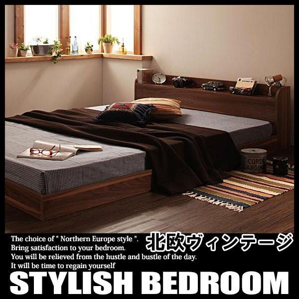 ベッド ローベッド フロアベッド シングルサイズ ボンネルコイルマットレスハードタイプ付き|vivamaria|02