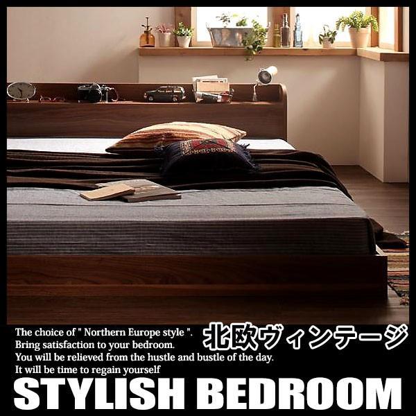 ベッド ローベッド フロアベッド シングルサイズ ボンネルコイルマットレスハードタイプ付き|vivamaria|03