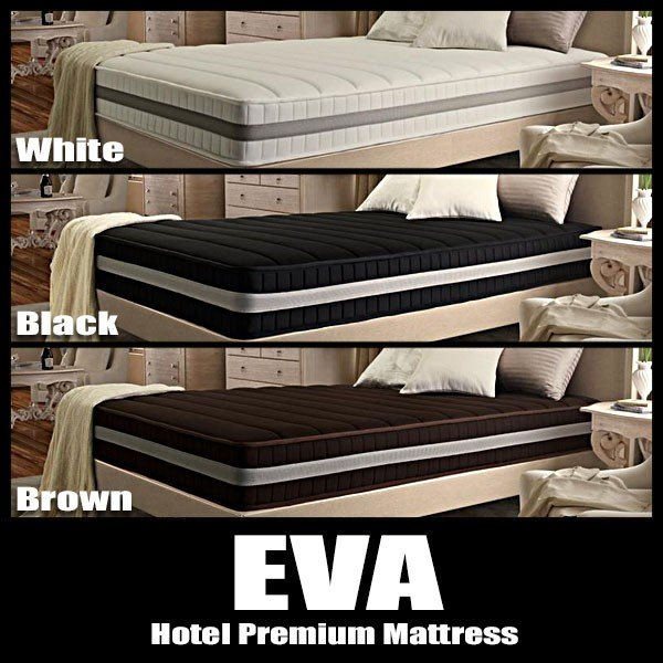 マットレス キング EVA エヴァ ホテルプレミアム 抗菌防臭防ダニ 高密度ボンネルコイル 硬さ:かため|vivamaria|02