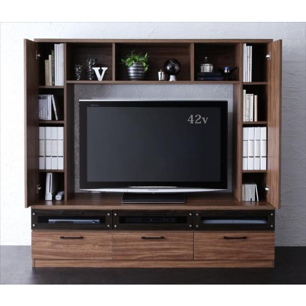 テレビ台 収納 ハイタイプ  テレビボード 50V型対応|vivamaria|02