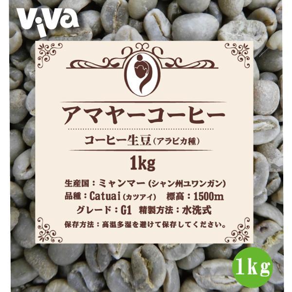 アマヤーコーヒー生豆G1ミャンマー産(1kg)