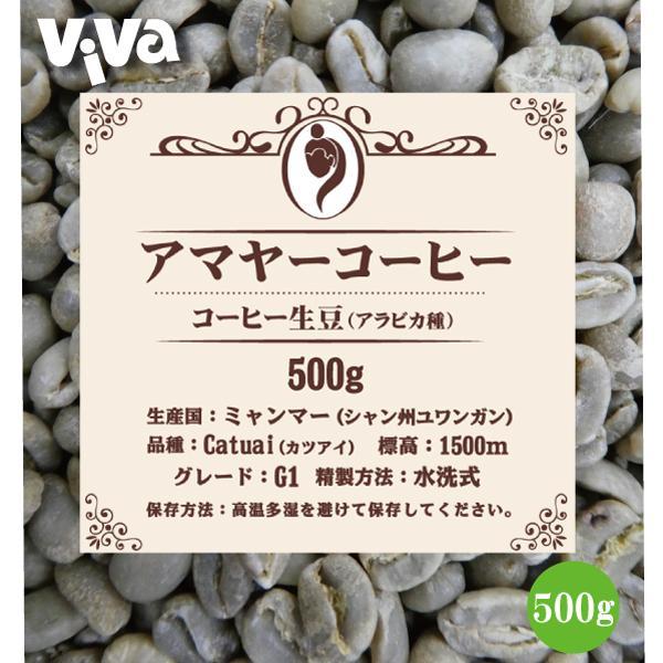 アマヤーコーヒー生豆G1ミャンマー産(500g)