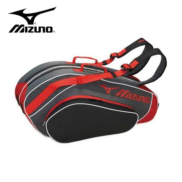 ラケットバッグ(6本入れ)  MIZUNO ミズノ テニス バッグ ラケットバッグ (63JD7003)