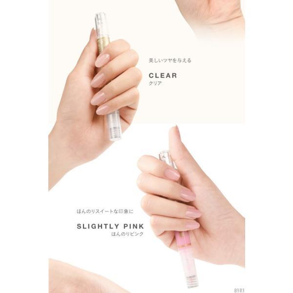 マニキュア ジェルネイル はがせる 速乾 ネイル 爪 美容液 保護 保湿 補修 ダメージ ケア さくら 香り 筆ペンタイプ 上品|vivian1616|09