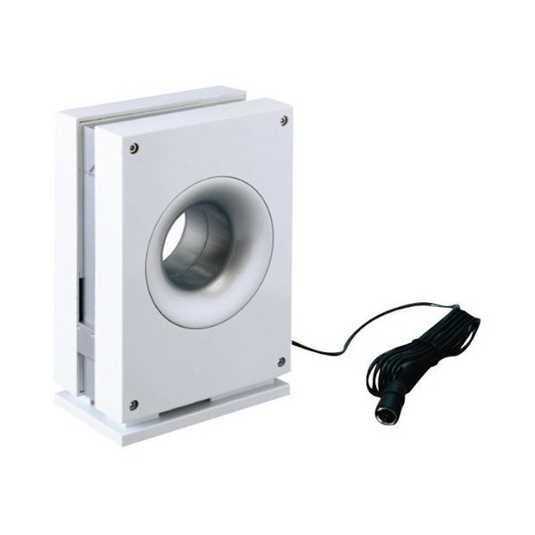 DXアンテナ 室内アンテナ ブースター内蔵 強電界用 ホワイト US110AW|vivian4988