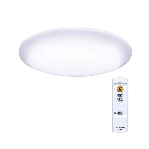 アイリスオーヤマLEDシーリングライト調光タイプ~6畳リモコン3300lmCL6D-5.0