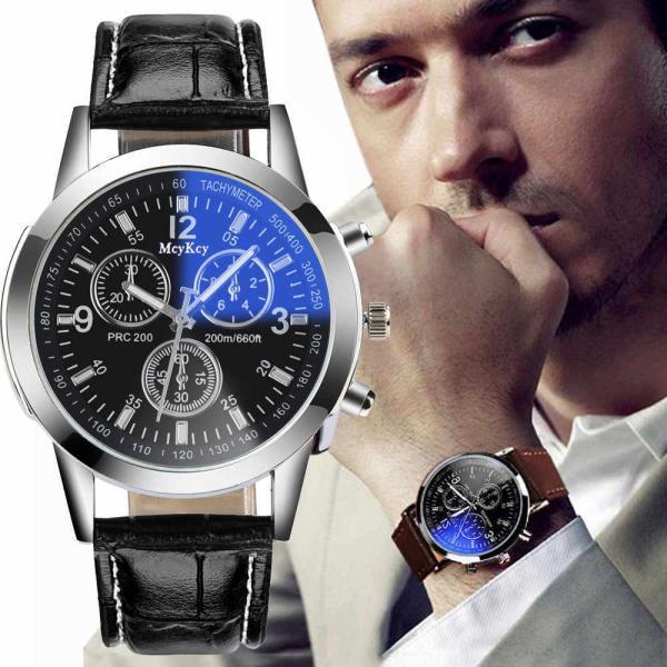 腕時計メンズおしゃれ黒白軽い薄い安い20代30代40代50代