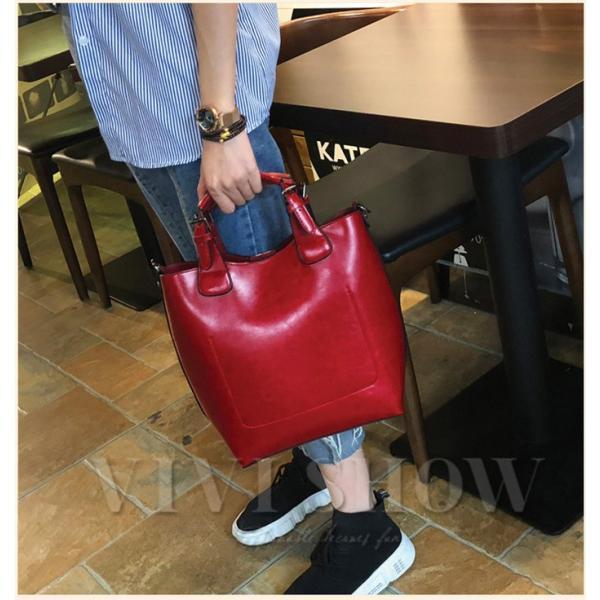 トートバッグ バッグ レディース 鞄 大容量 通勤 レザー 本革バッグ おしゃれ シンプル 送料無料