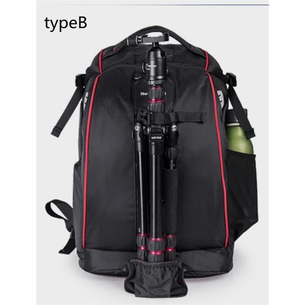 一眼レフ カメラバッグ リュック ミラーレスカメラバッグ メンズ ビジネス デジカメ リュックサック 大容量 レンズ収納 学生 旅行 多機能 耐衝撃 撥水加工|vivishow777|12