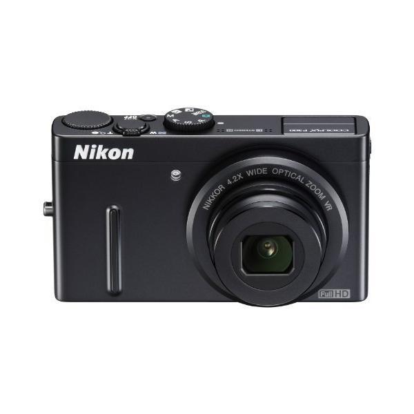 NikonデジタルカメラCOOLPIX P300 ブラックP300 1220万画素 裏面照射CMOS 広角24mm 光学4.2倍 F1.8レンズ フル