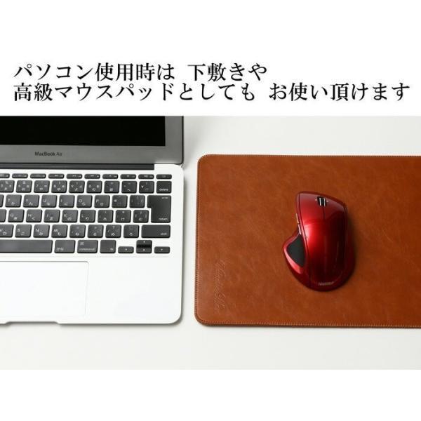 Surface Go スリーブ ケース レザー 青 高品質高性能 軽 薄 皮 革 全7色 10 インチ スリップイン タブレットパソコン カバー サーフェス ゴー ネイビーブルー|vm-case|09