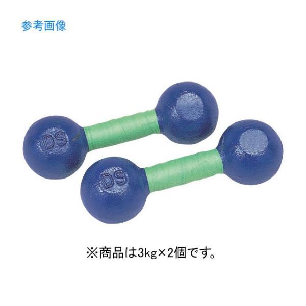 DANNO ダンノ 鉄アレー 3kg D-805  家トレ 【代引不可】