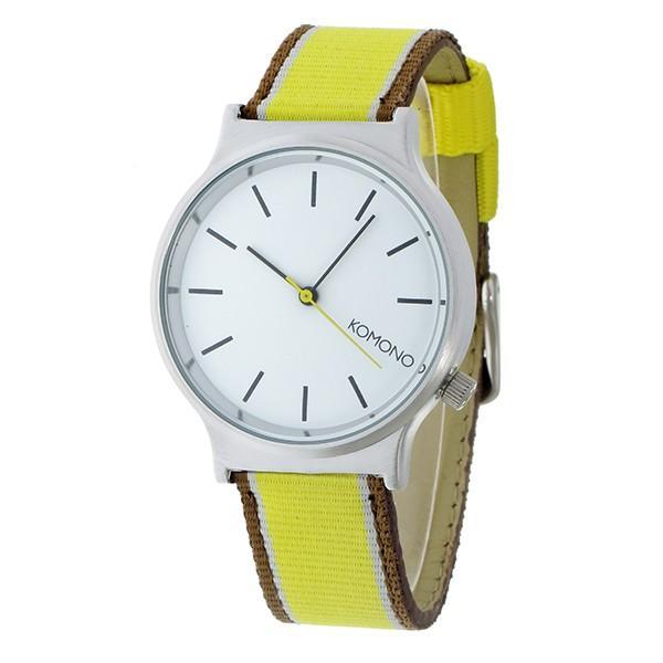 コモノ 腕時計 レディース Wizard Three Tone Series KOMONO ホワイト