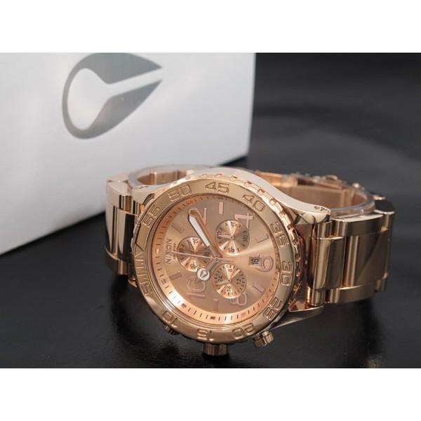 ニクソン 腕時計 レディース 42-20 CHRONO NIXON ALL ROSE GOLD