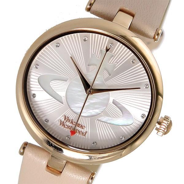 ヴィヴィアンウエストウッド 腕時計 レディース VIVIENNE WESTWOOD レザー シェル
