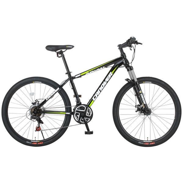 マウンテンバイク 自転車 26インチ MTB ディスクブレーキ フロントサスペンション シマノ21段変速 CANOVER カノーバー CAMT-042-DD ORION voldy 03