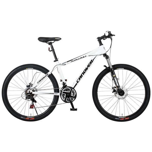マウンテンバイク 自転車 26インチ MTB ディスクブレーキ フロントサスペンション シマノ21段変速 CANOVER カノーバー CAMT-042-DD ORION voldy 06