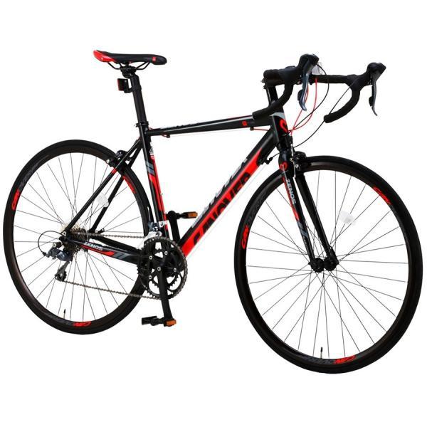 ロードバイク 自転車 700c シマノ16段変速 超軽量 アルミフレーム デュアルコントロールレバー 送料無料 CANOVER カノーバー CAR-011 ZENOS|voldy|13