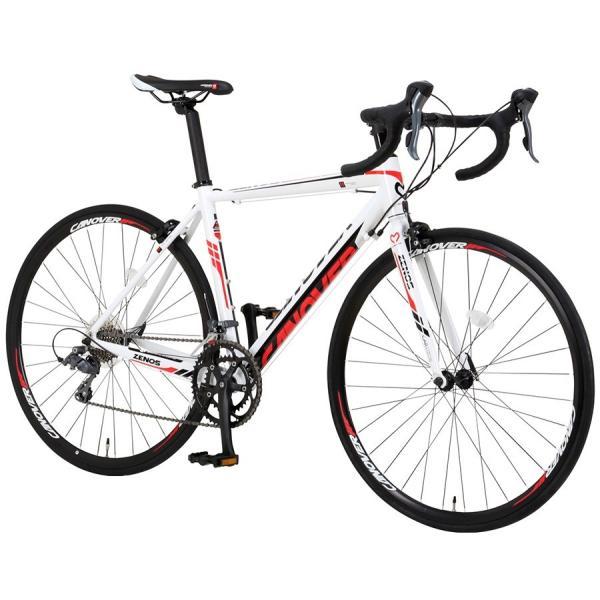 ロードバイク 自転車 700c シマノ16段変速 超軽量 アルミフレーム デュアルコントロールレバー 送料無料 CANOVER カノーバー CAR-011 ZENOS|voldy|15