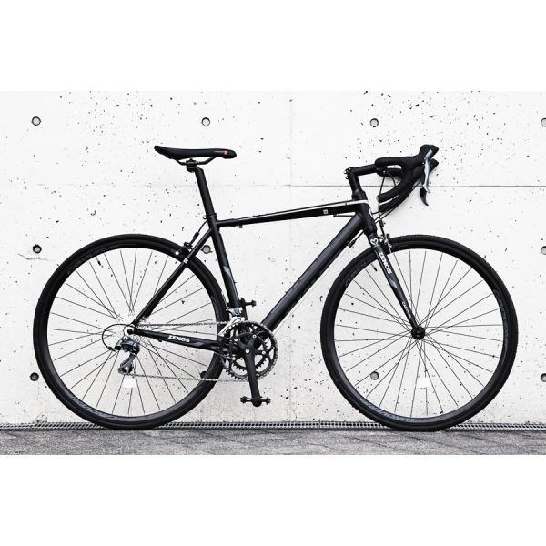 ロードバイク 自転車 700c シマノ16段変速 超軽量 アルミフレーム デュアルコントロールレバー 送料無料 CANOVER カノーバー CAR-011 ZENOS|voldy|03