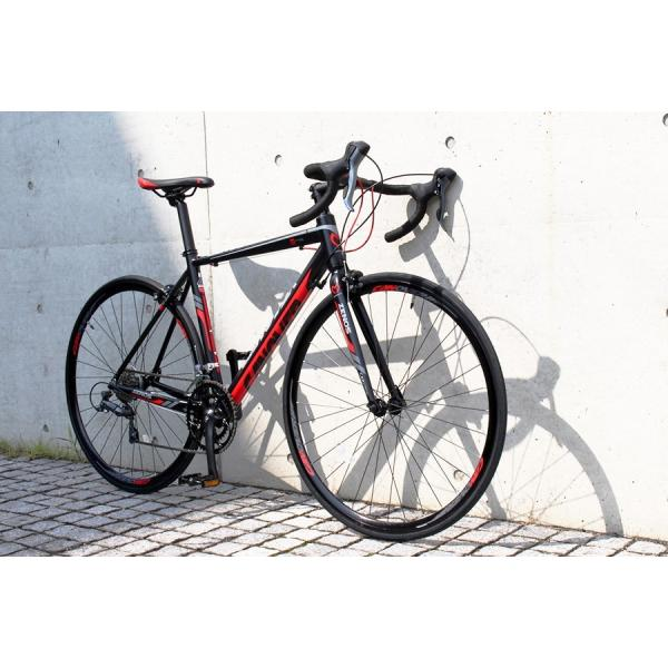 ロードバイク 自転車 700c シマノ16段変速 超軽量 アルミフレーム デュアルコントロールレバー 送料無料 CANOVER カノーバー CAR-011 ZENOS|voldy|04