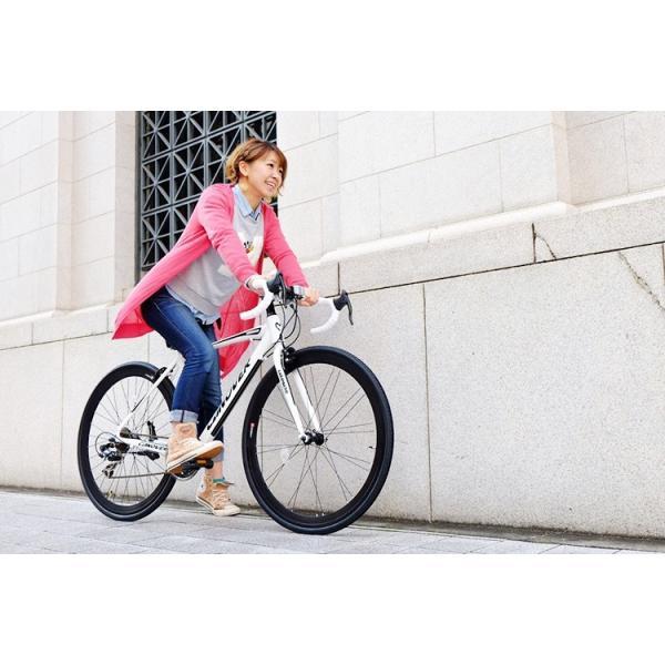 ロードバイク 自転車 ロードレーサー 700c シマノ21段変速 超軽量 アルミフレーム 送料無料 CANOVER カノーバー CAR-015 UARNOS|voldy|03