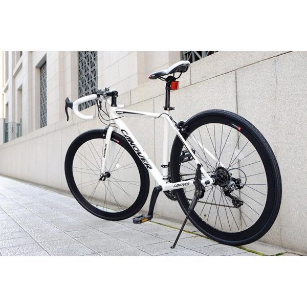 ロードバイク 自転車 ロードレーサー 700c シマノ21段変速 超軽量 アルミフレーム 送料無料 CANOVER カノーバー CAR-015 UARNOS|voldy|21
