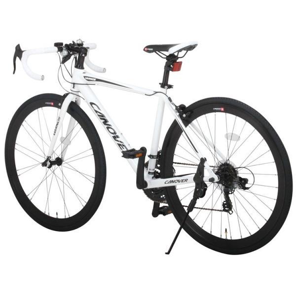 ロードバイク 自転車 ロードレーサー 700c シマノ21段変速 超軽量 アルミフレーム 送料無料 CANOVER カノーバー CAR-015 UARNOS|voldy|09