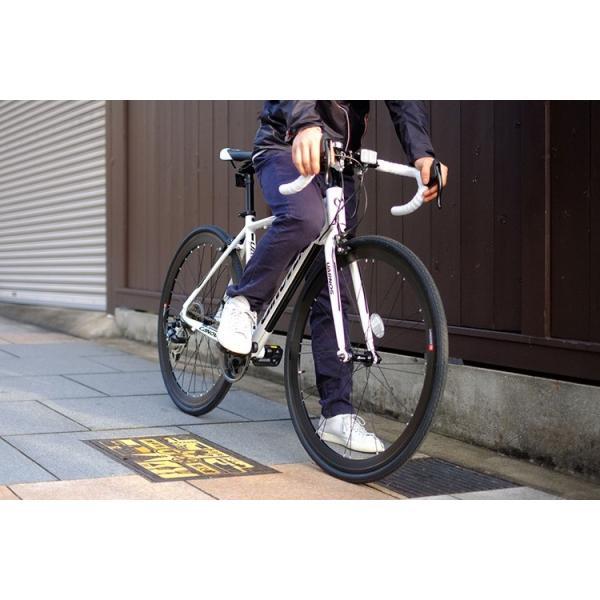 ロードバイク 自転車 ロードレーサー 700c シマノ21段変速 超軽量 アルミフレーム 送料無料 CANOVER カノーバー CAR-015 UARNOS|voldy|10