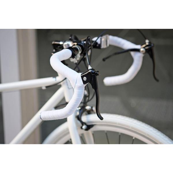 ロードバイク ロードレーサー 自転車 本体 初心者 700c(約27インチ) シマノ21段変速 ドロップハンドル 2wayシステムブレーキ Grandir Sensitive|voldy|10