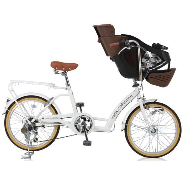 完成品 子供乗せ自転車 BAA 20インチ 3人乗り対応 シマノ外装6段変速 LEDオートライト voldy.collection VO-KDL206HD-BAA|voldy|04