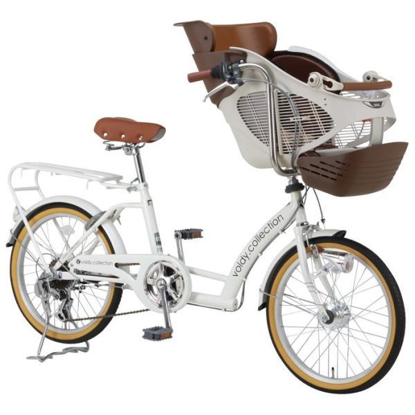 完成品 子供乗せ自転車 BAA 20インチ 3人乗り対応 シマノ外装6段変速 LEDオートライト voldy.collection VO-KDL206HD-BAA|voldy|05