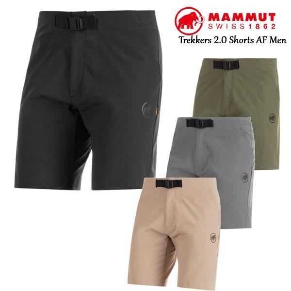 MAMMUT マムート Trekkers 2.0 Shorts AF Men メンズ ショーツ アウトドア ハイキングショーツ 速乾 ストレッチ 1023-00470|voltage
