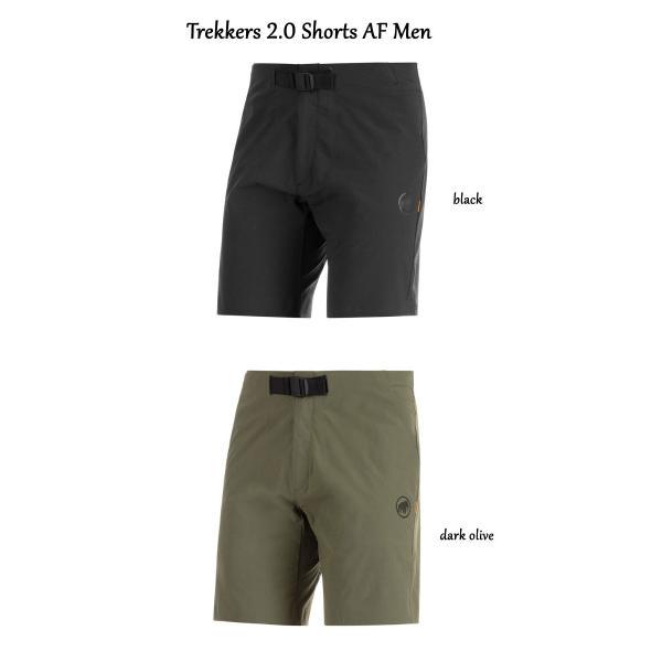MAMMUT マムート Trekkers 2.0 Shorts AF Men メンズ ショーツ アウトドア ハイキングショーツ 速乾 ストレッチ 1023-00470|voltage|02