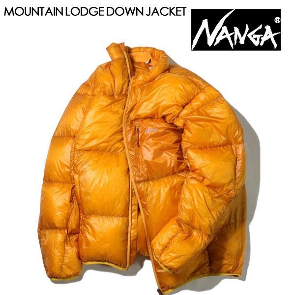 NANGA ナンガ MOUNTAIN LODGE DOWN JACKET マウンテンロッジダウンジャケット メンズ ダウンジャケット ポケッタブル  2020 AUTUMN/WINTER|voltage