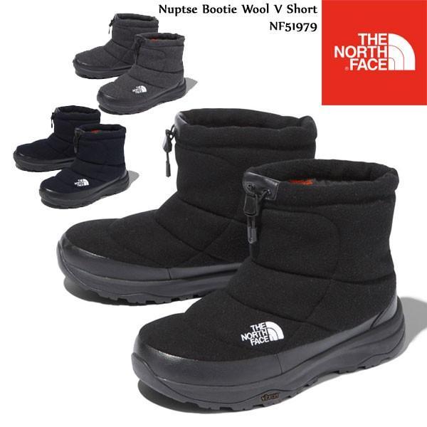 The North Face ノースフェイス Nuptse Bootie Wool V Short NF51979 K N C ヌプシブーティーウールVショート ショート ブーツ ザ・ノース・フェイス|voltage