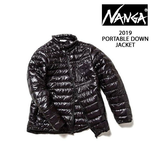 NANGA ナンガ PORTABLE DOWN JACKET ポータブルダウンジャケット ポケッタブル NANGA DOWN WEAR 09 2019FW|voltage