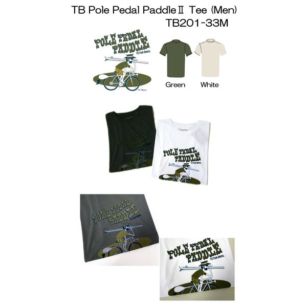 Teton Bros. ティートン ブロス TB Pole Pedal PaddleII Tee Men TB201-33M メンズ Tシャツ 半袖 2020 Spring&Summer voltage 02