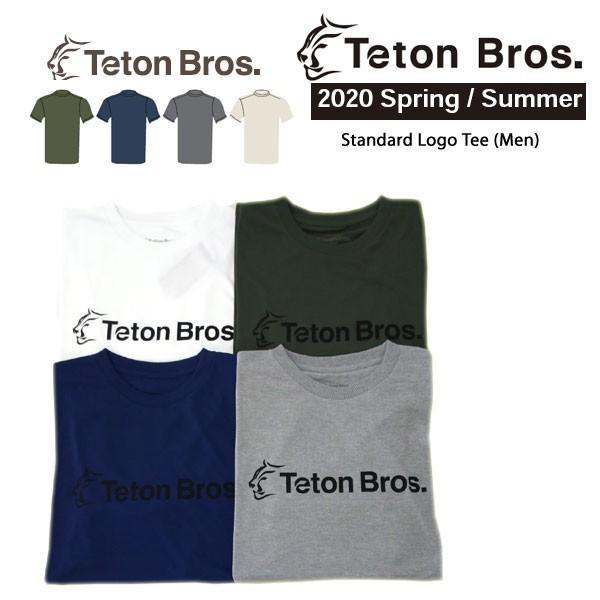 Teton Bros. ティートン ブロス Standard Logo Tee Men TB201-35M メンズ Tシャツ 半袖 2020 Spring&Summer|voltage