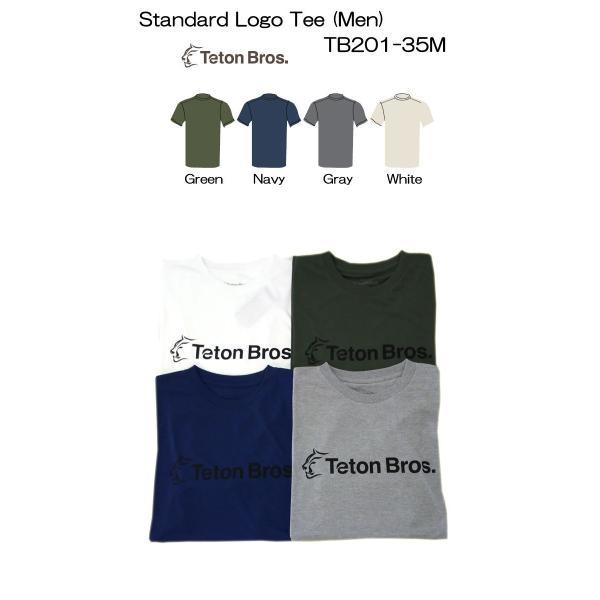 Teton Bros. ティートン ブロス Standard Logo Tee Men TB201-35M メンズ Tシャツ 半袖 2020 Spring&Summer|voltage|02