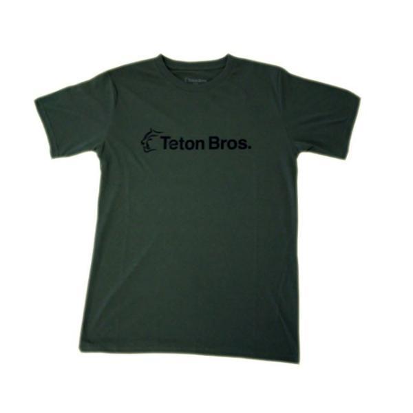 Teton Bros. ティートン ブロス Standard Logo Tee Men TB201-35M メンズ Tシャツ 半袖 2020 Spring&Summer|voltage|03