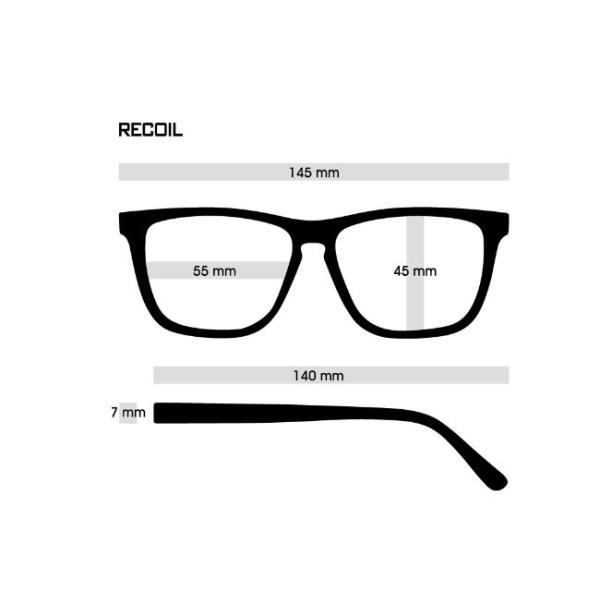 DANG SHADES ダンシェイディーズ RECOIL Black x Chrome Mirror Polarized(偏光レンズ)サングラス ダン・シェイディーズ vidg00400|voltage|03