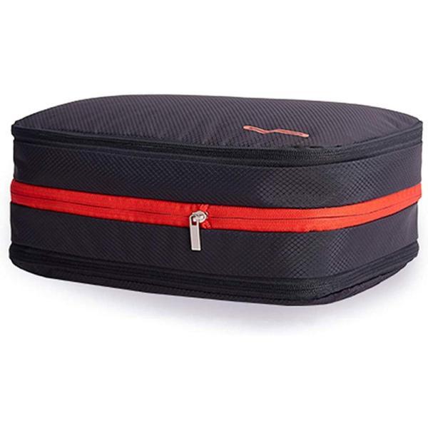 便利旅行圧縮バッグ スペース50%節約 シューズ 乾湿分離 出張 旅行 バスケットボールコート 収納バッグ アウトドア 衣類仕分け 簡単圧縮 超大容量 15L